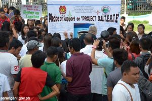 Residents support Project D.U.T.E.R.T.E.