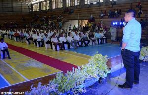 Mayor Reganit reaffirms support to barangays