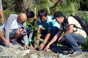 Tree planting at Maitum dumpsite