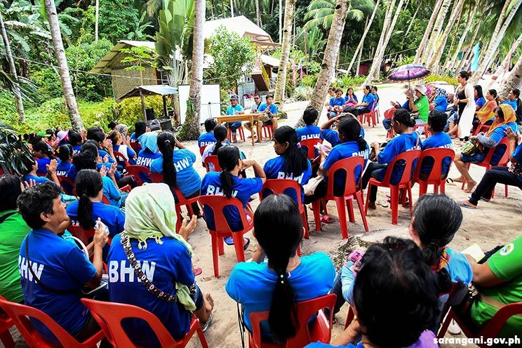 BHWs enjoy socialization program