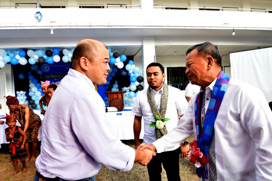 Lapeña launches TESDA Provincial Training Center