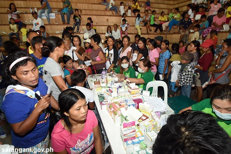 Maitum hosts medical mission