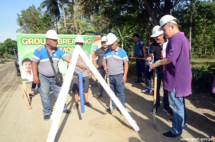 Improved Maribulan-Alegria provincial road breaks ground