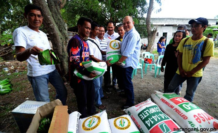 Food security under Sulong Kasaganaan