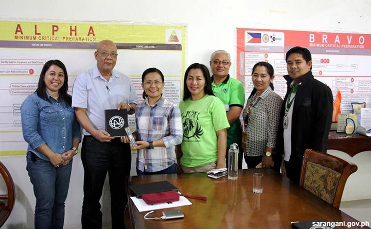 Int'l humanitarian group visits Malungon