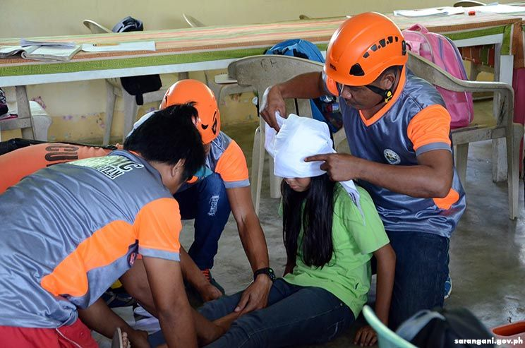 Disaster first responders trained