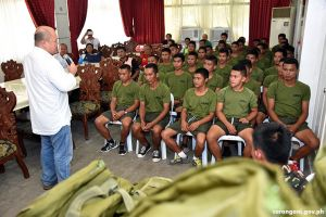 47 military gears given to CAAs