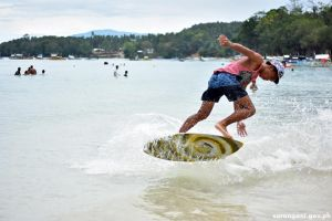 Skimboarding Competition
