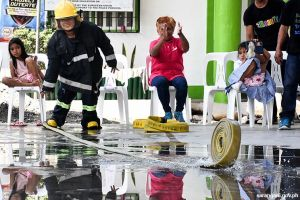 Fire volunteers trained