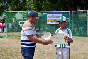 Maitumian Little League best player