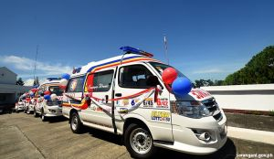 Provincial gov't-run hospitals get ambulances from PCSO