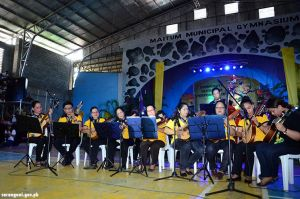 NCCA Rondalla performs in Maitum
