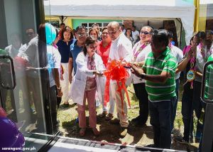Officials inaugurate P34M Martinez hospital upgrades