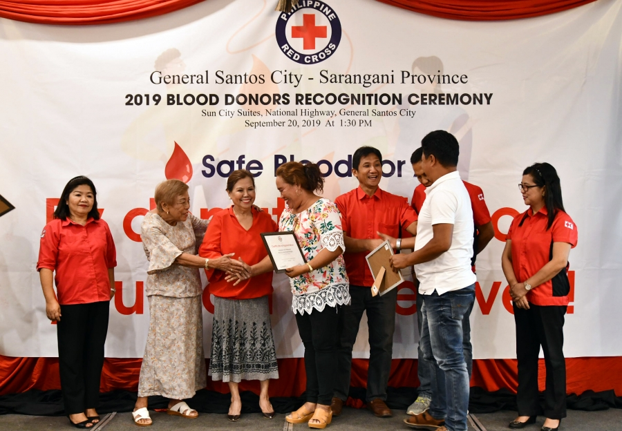 Blood Donors Recognition Ceremony