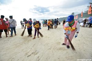 #ILoveCleanSarBay cleanup drive