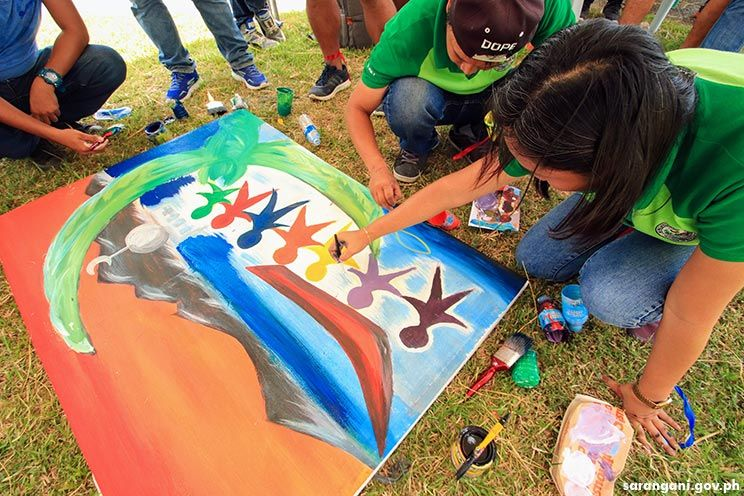 Canvass Painting competition for Munato Festival