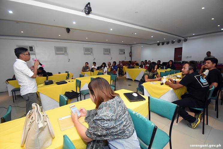 Sulong Sarangani, municipal communicators in social media training