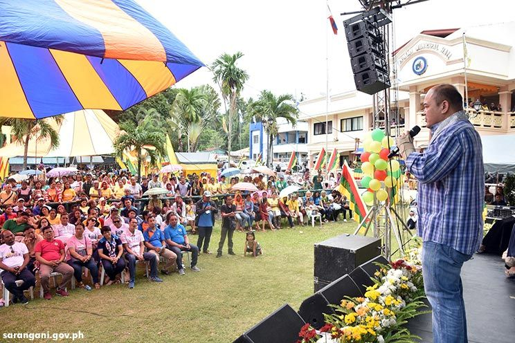 Gov. Solon: Malapatan growing in peace