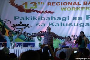 DOH exec entertains BHWs