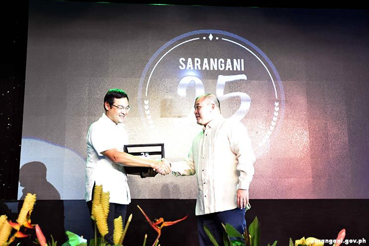 Sarangani honors pioneering employees