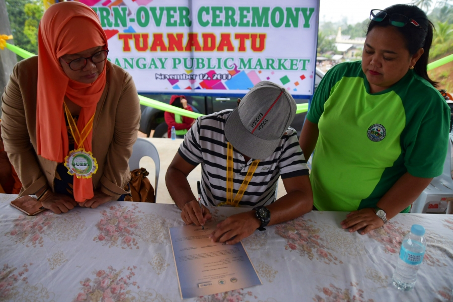 Turnover of public market