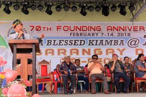 PIPMR Basino in Tri-People and Barangay Day