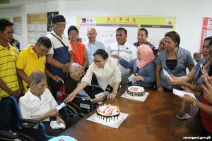 Tessa, DSWD 12 confer cash gifts to centenarians