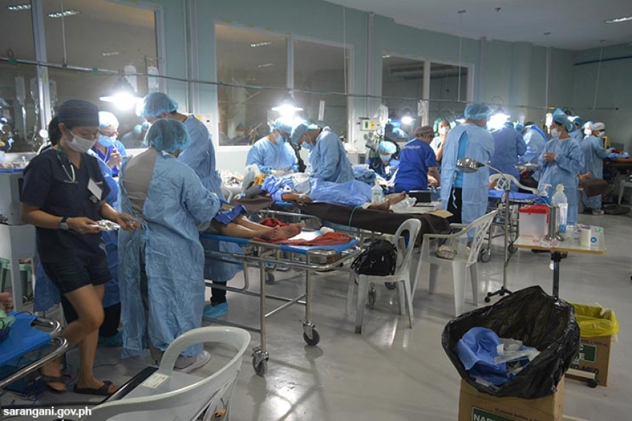 150 doctors, medical practitioners hold surgical mission