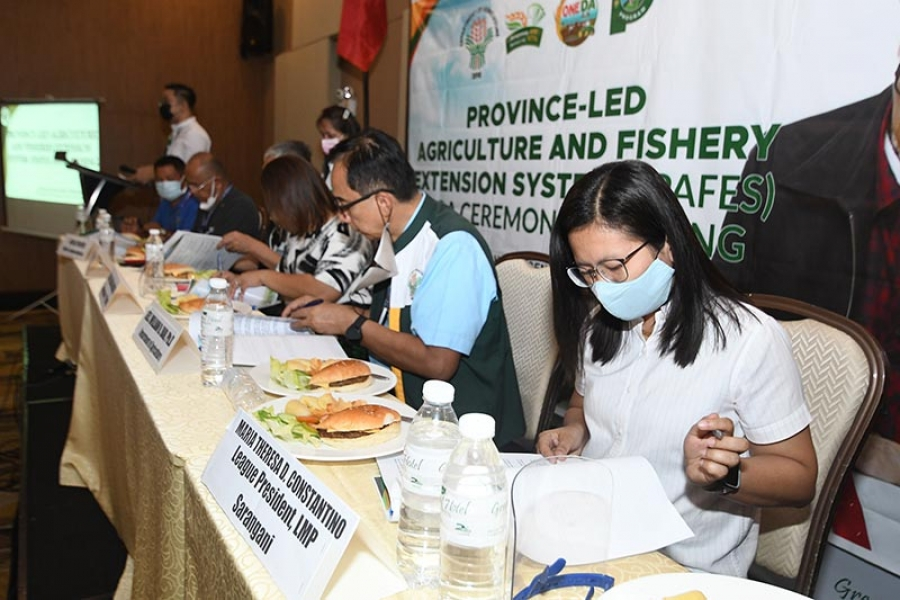 MOA for Provincial-led Agriculture and Fisheries Extension Systems signed