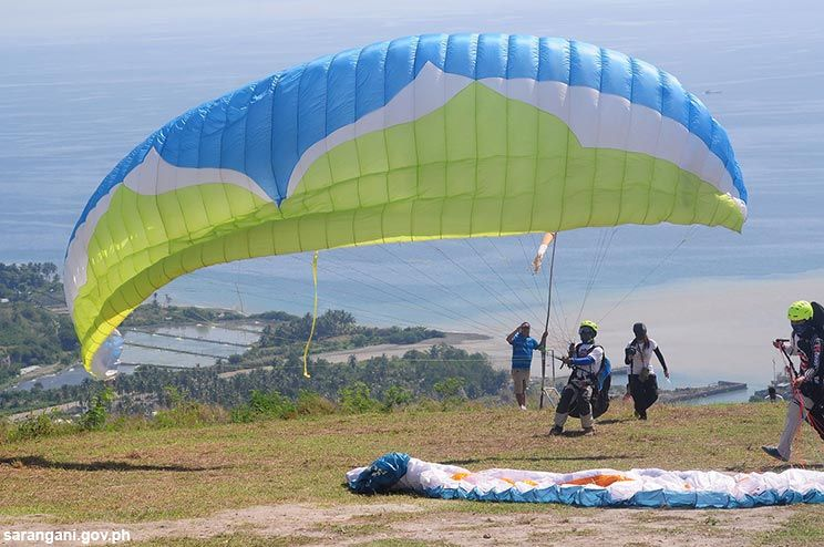 Paragliding is fun