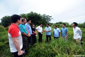 China engineering team inspects drug rehab site
