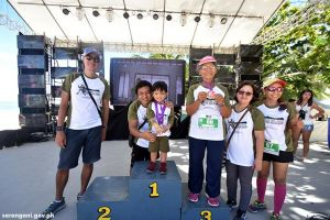 Youngest, oldest finish Sarbay fun run