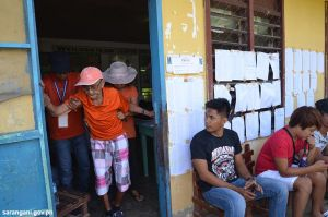 Sarangani's 95-year old man votes
