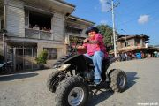 Vice mayor leads with ATV ride