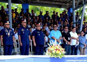 General Bato attends police celebration
