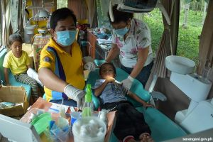 Gov't. delivers dental health services