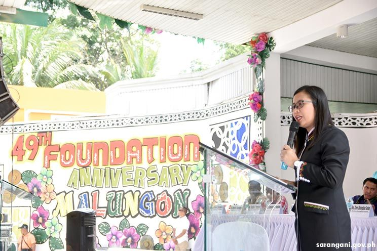 Mayor Constantino thanks Malungon partners, constituents