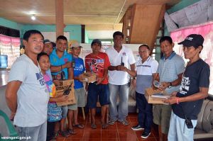 LGU Maitum gives radios for emergency