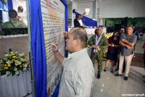 A safe Sarangani through community empowerment
