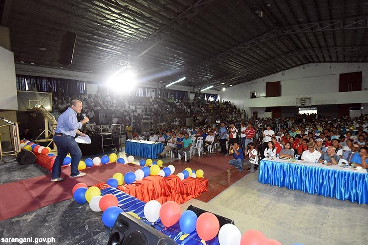 Governor Solon rallies support for MASA MASID