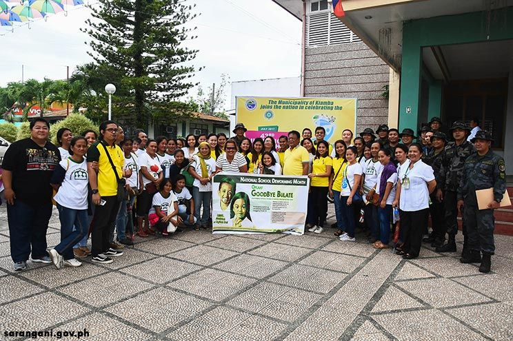 Kiamba conducts deworming on nutrition month