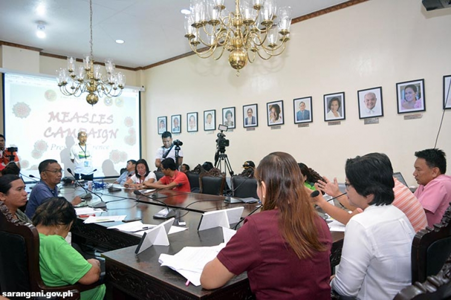 Presscon urges measles vaccination