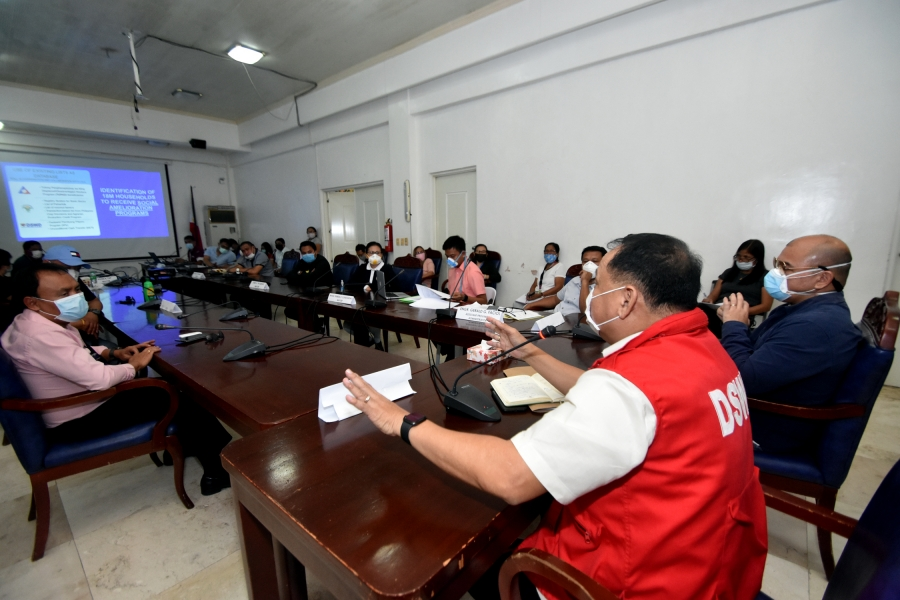 Gov. Solon, mayors briefed on SAR