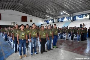 Sarangani produces 212 SBCMT graduates