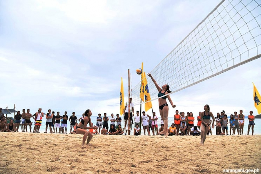 Davao spikers dominate Sarbay volleyball