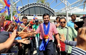 Hero's Welcome for Rep. Pacquiao