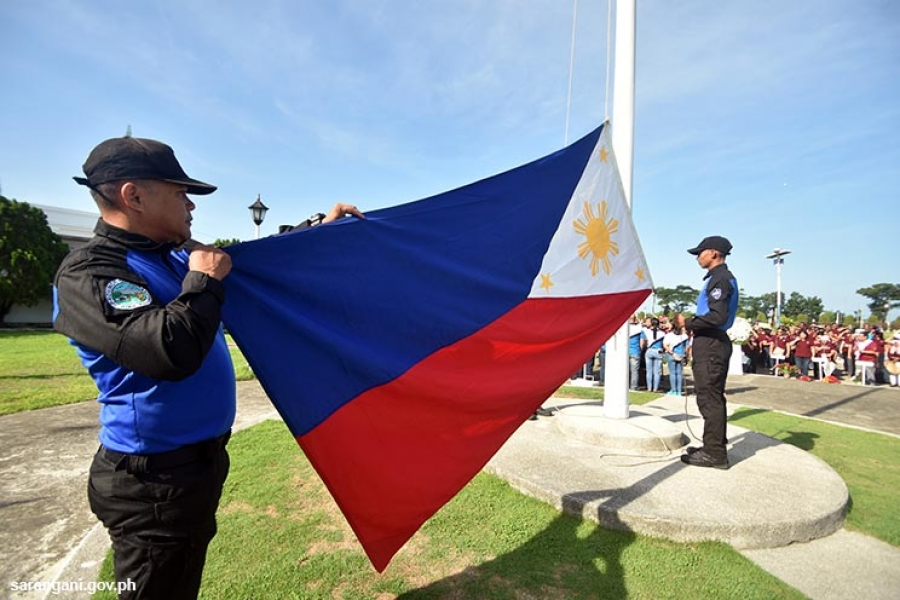 Celebration of Independence Day in Sarangani