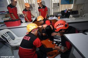 Sarangani joins nationwide earthquake drill