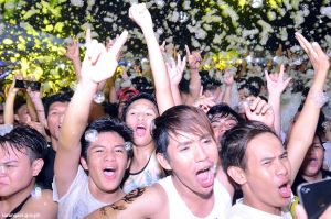 Sarbay foam party powered by Smart