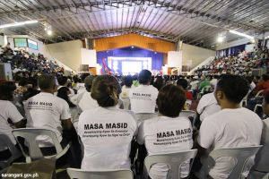Community volunteers leading MASA MASID